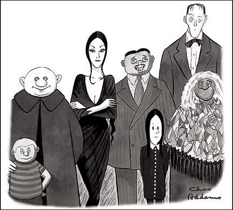 Addams Family--sketch