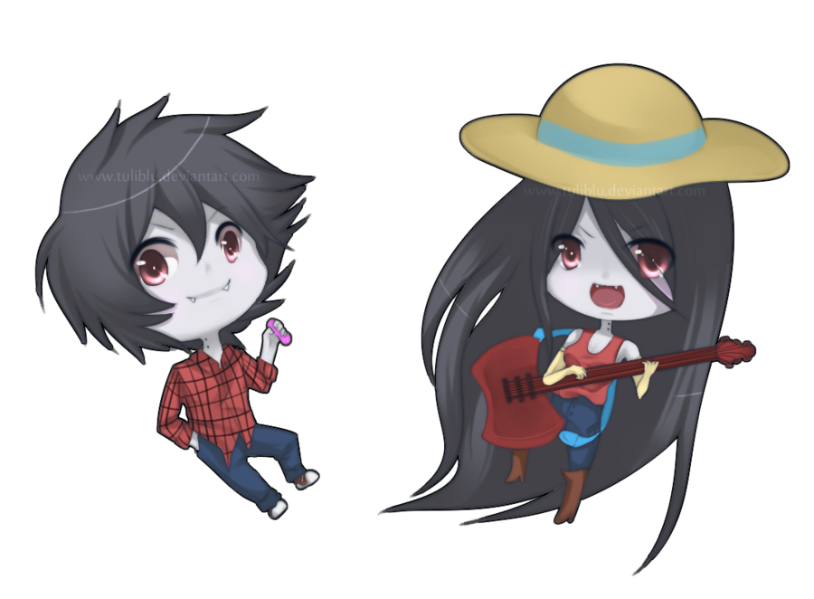 Chibi Marceline And Marshal Lee Download