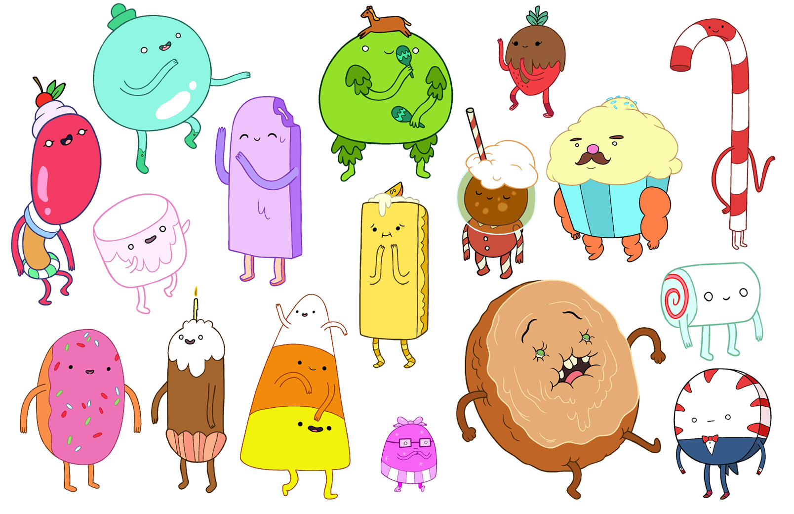 Image - CandyPeople.png - The Adventure Time Wiki ...