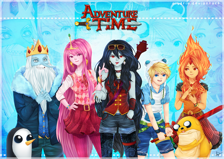 Adventure time by aiydrin d4x1sbi 2