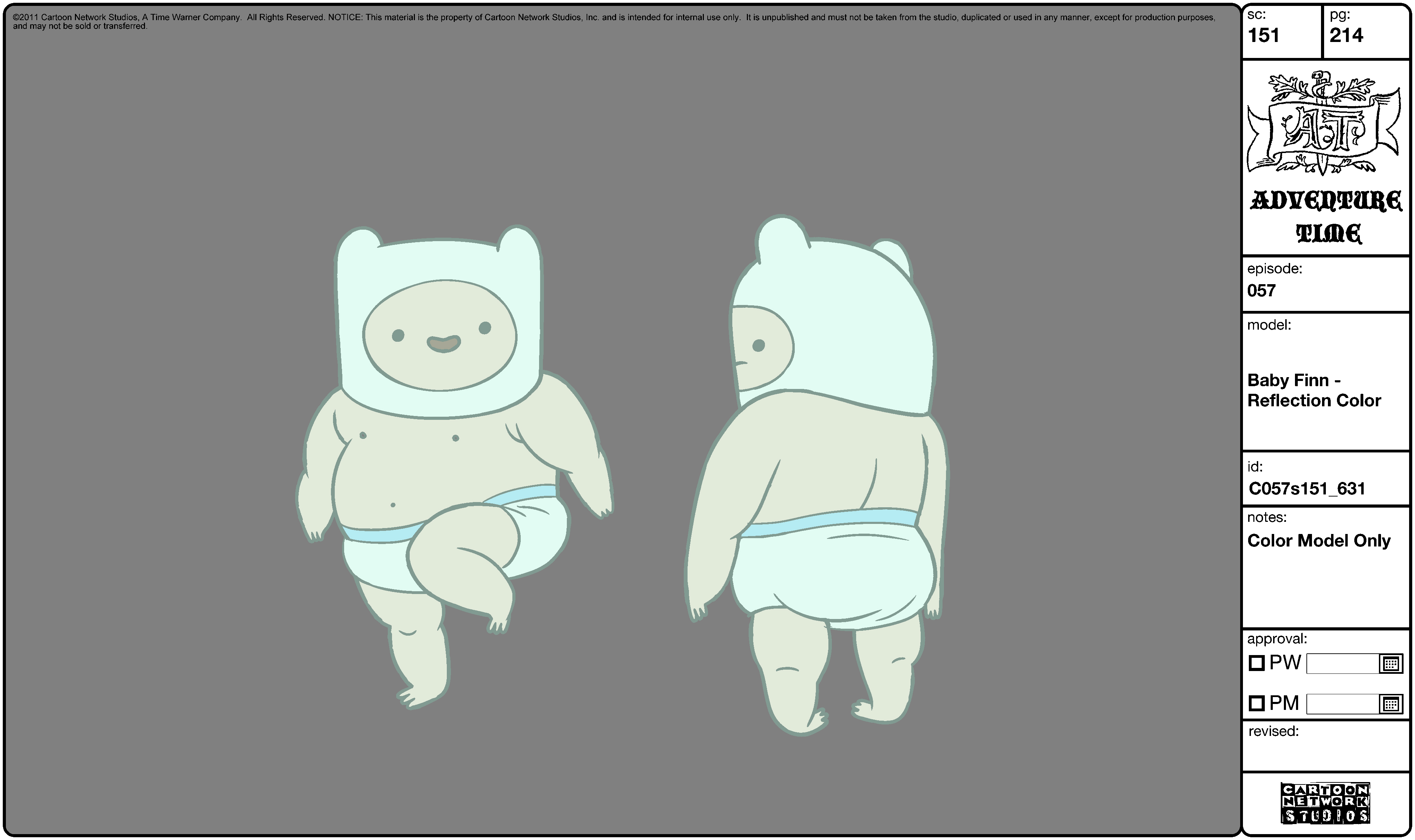 How to draw baby finn