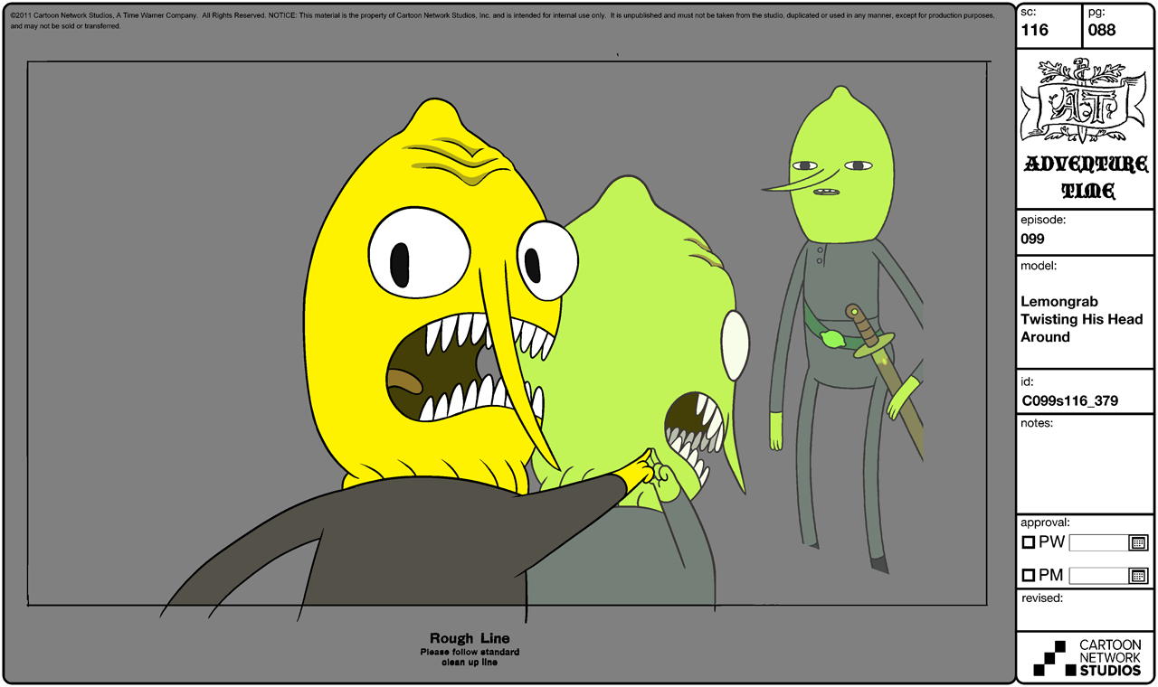 Image Modelsheet Lemongrab Twisting His Head Around Png