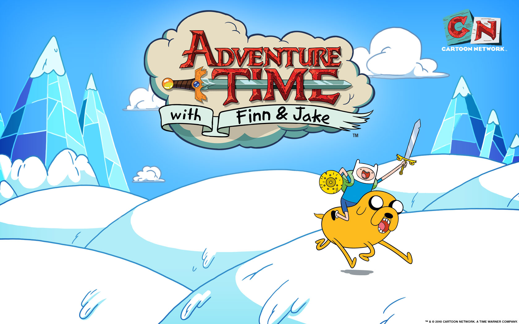 Adventure Time At_wallpaper1_1680x1050