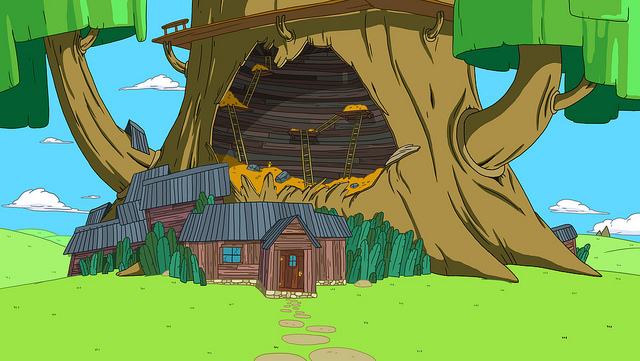finn and jakes treehouse