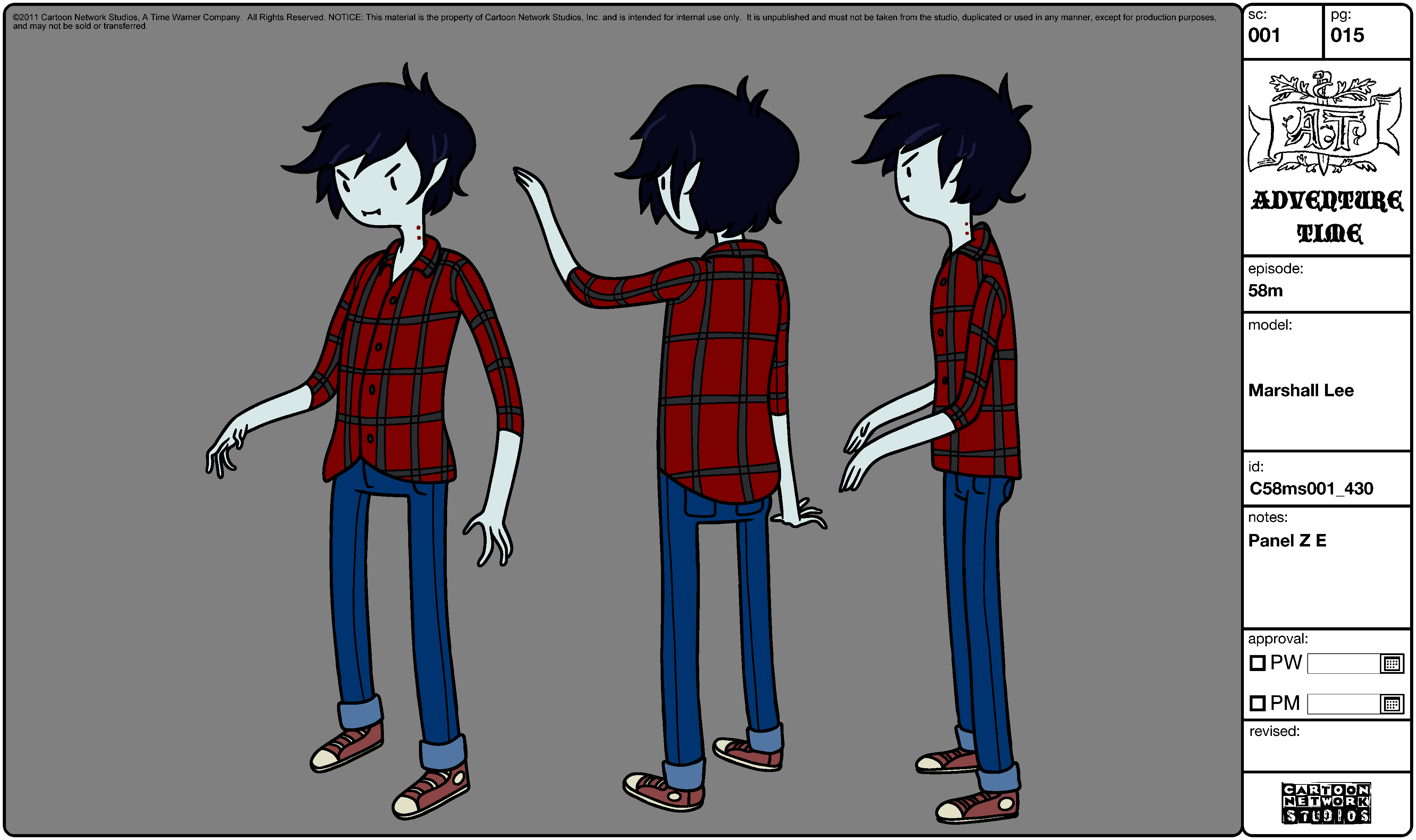 Image - Modelsheet Marshall Lee 1.png - The Adventure Time Wiki