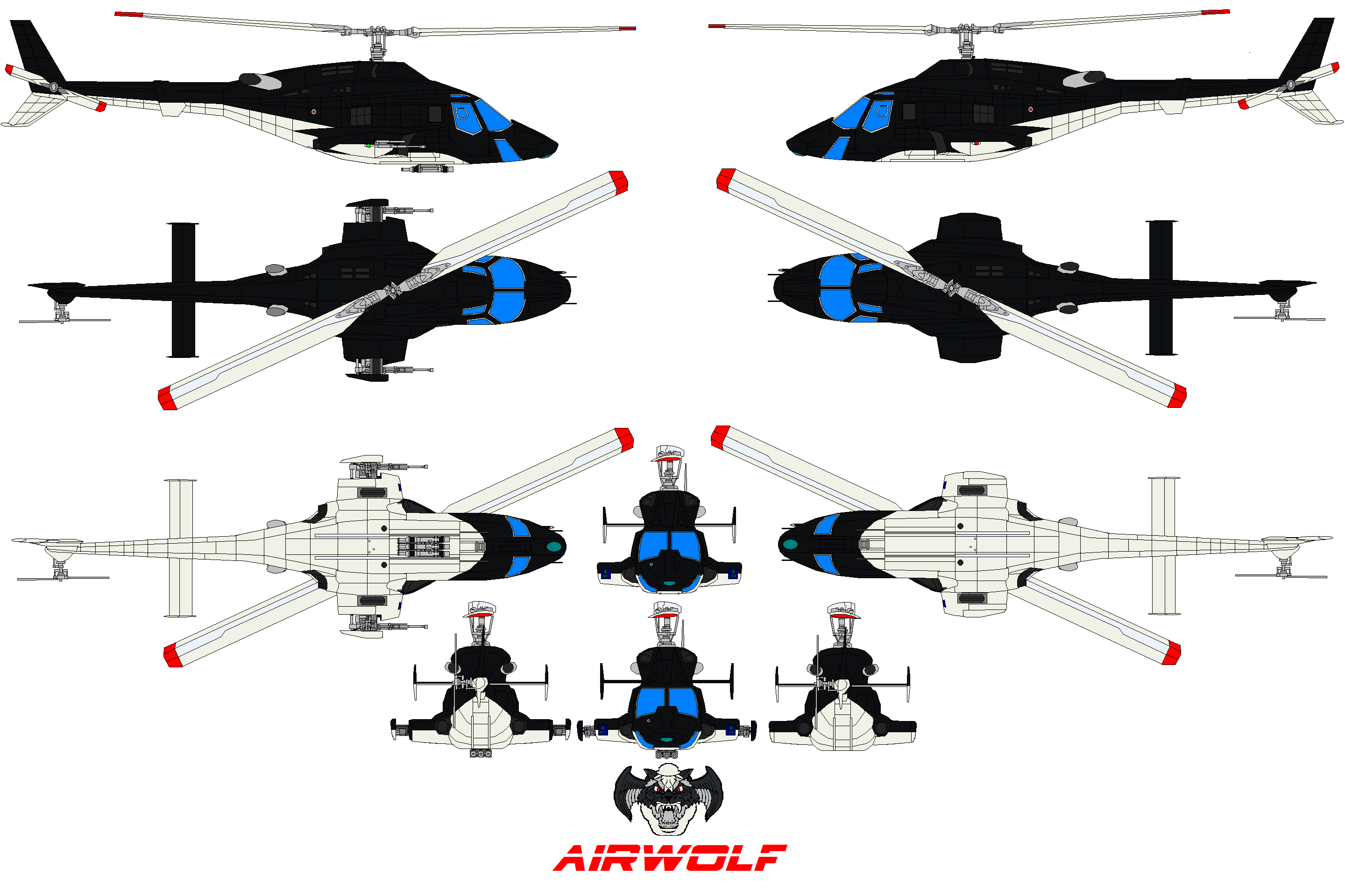 archangel from airwolf with Air Wolf Logo on Pages also YmVsbCA0MzAgYWlyd29sZg moreover Airwolf 1985 Horn Of Plenty And Airwolf Ii furthermore Air Wolf Helicopter additionally Moffett 27s Ghost  episode.