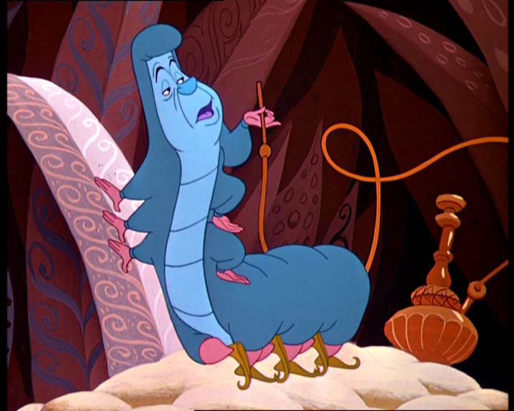 Gallery For > Alice In Wonderland Caterpillar Smoking ... Alice In Wonderland Hookah