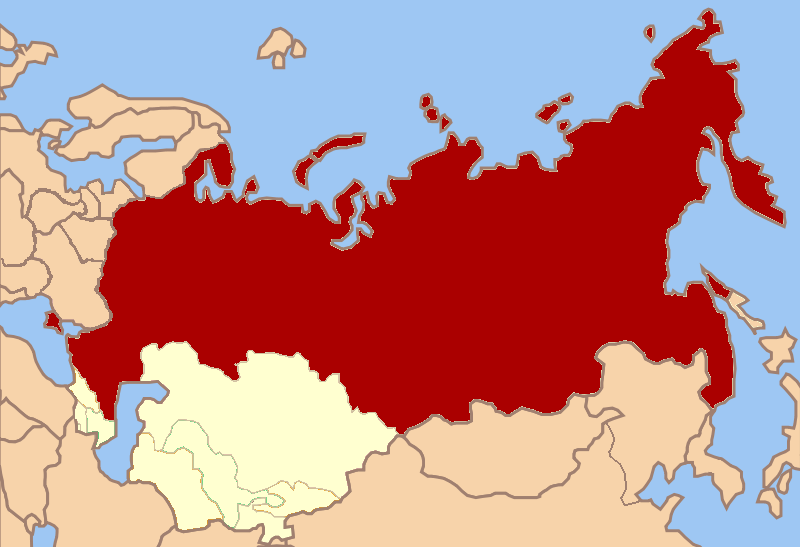 a history of the union of soviet repulic in russia The union of soviet sovereign republics is born it's a supernational federation of nine sovereign states: the old soviet union minus the baltic states, moldova, armenia and georgia it has a common currency -- still the ruble -- and no internal barriers to trade.