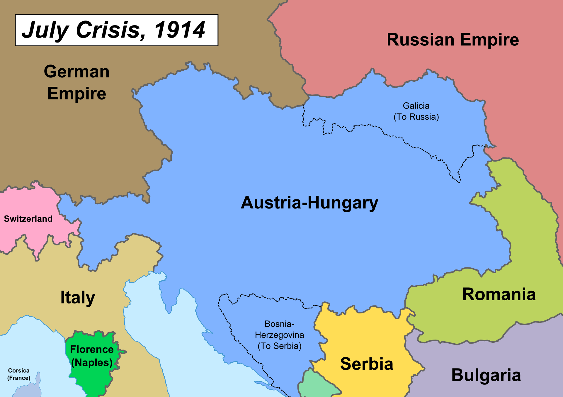 the july crisis The assassination of archduke franz ferdinand, on june 28th1914, didn't necessarily have to become acassus bellifor the european war however, the.