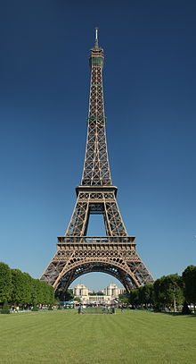 Pictures  Eiffel Tower  Built on The World  Including In America And In France  Mem The Eiffel Tower