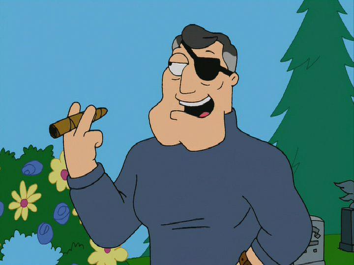 Roger de American Dad y sus personajes!