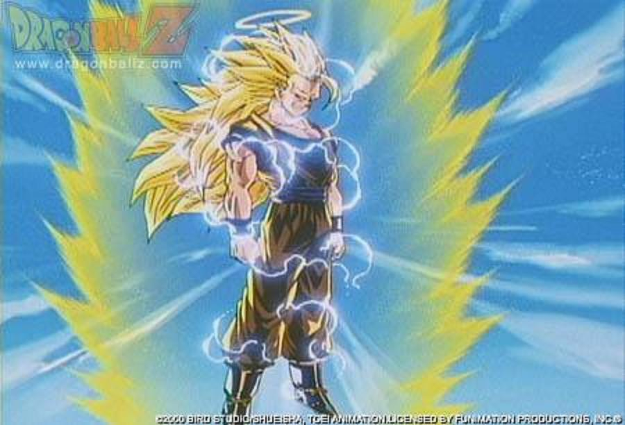 dragon ball z goku super saiyan 1. It is the third form of Super