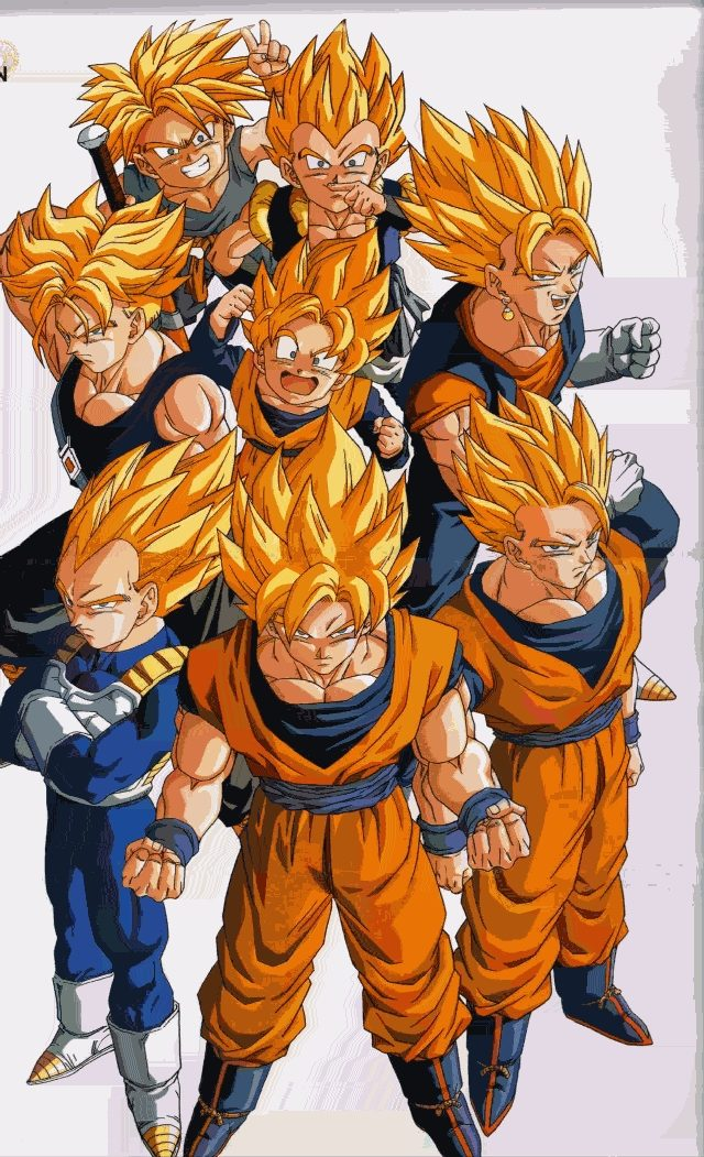 dragon ball z vegeta super saiyan. Super Saiyan (two in manga