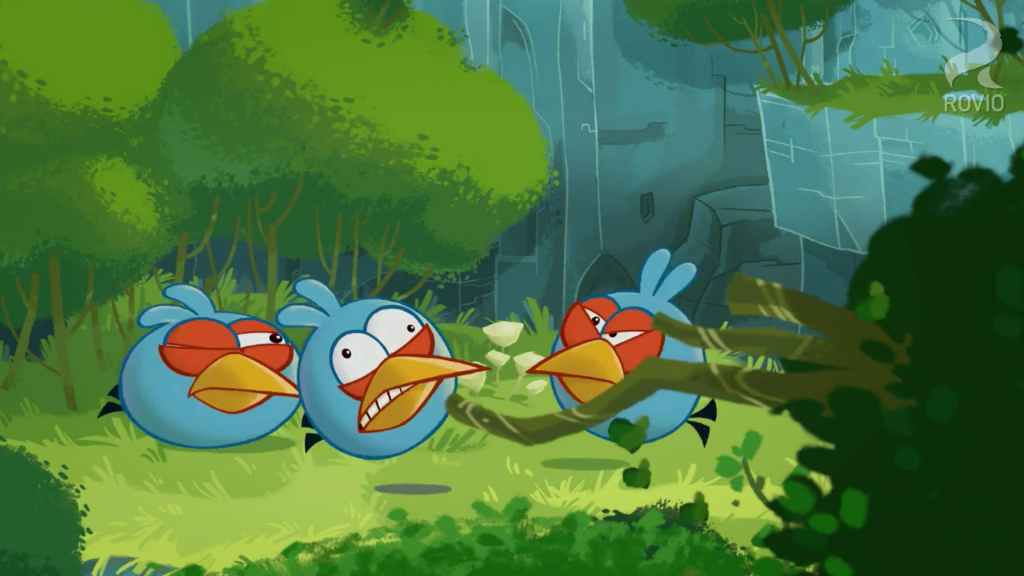 Angry Birds Toons Characters Eggs By Brunomilan13 On: Egg Sounds Blues Panic.PNG