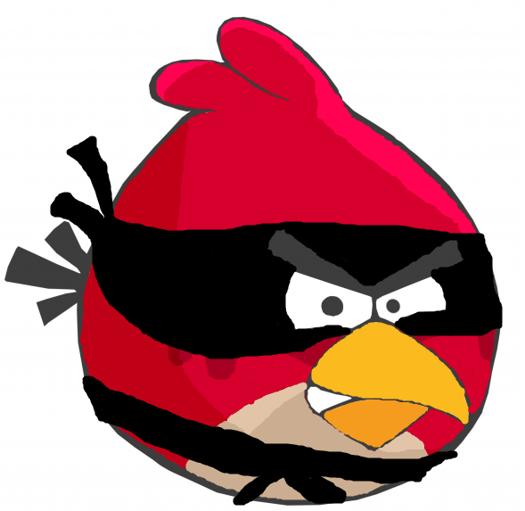 image red bird angry birds fanon wiki. Black Bedroom Furniture Sets. Home Design Ideas