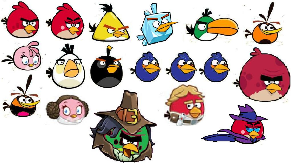 angry birds all characters - photo #7