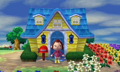 Personnaliser votre maison animal crossing for Agrandissement maison animal crossing wii