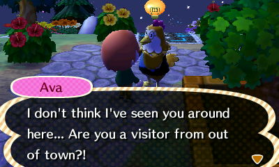 Image - Meeting Ava From Another Town.JPG - Animal Crossing Wikiava town