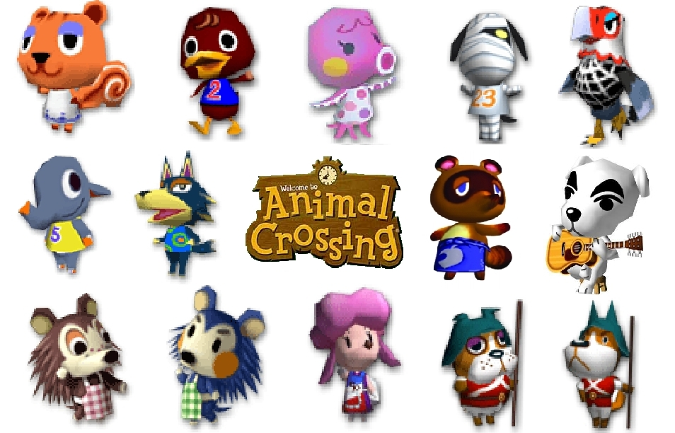 Animal Crossing Characters W Logo Pictures