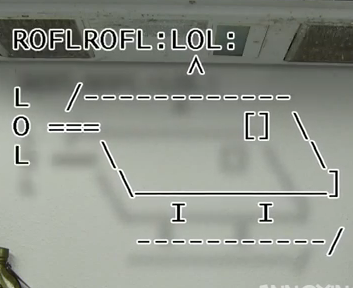 Password entry for Roflcopter text