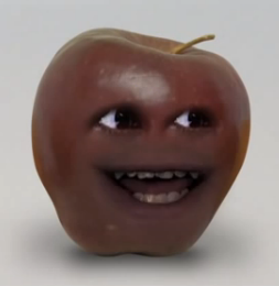 Orange midget apple Annoying
