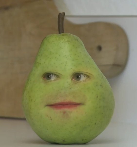 annoying orange toys pear - photo #9