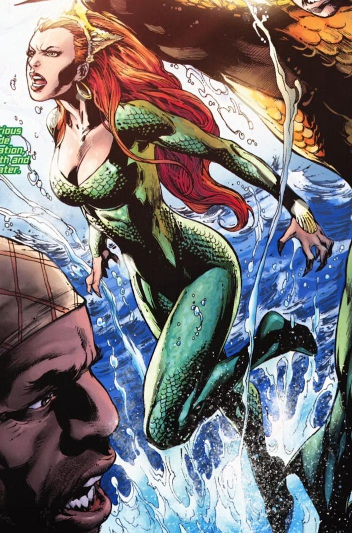 Justice League Mera