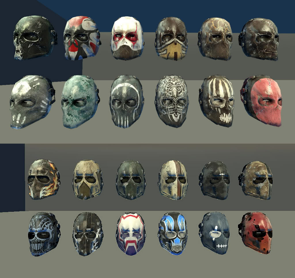 Image - Masks.jpg - Army of Two Wiki - Army of Two: The ...