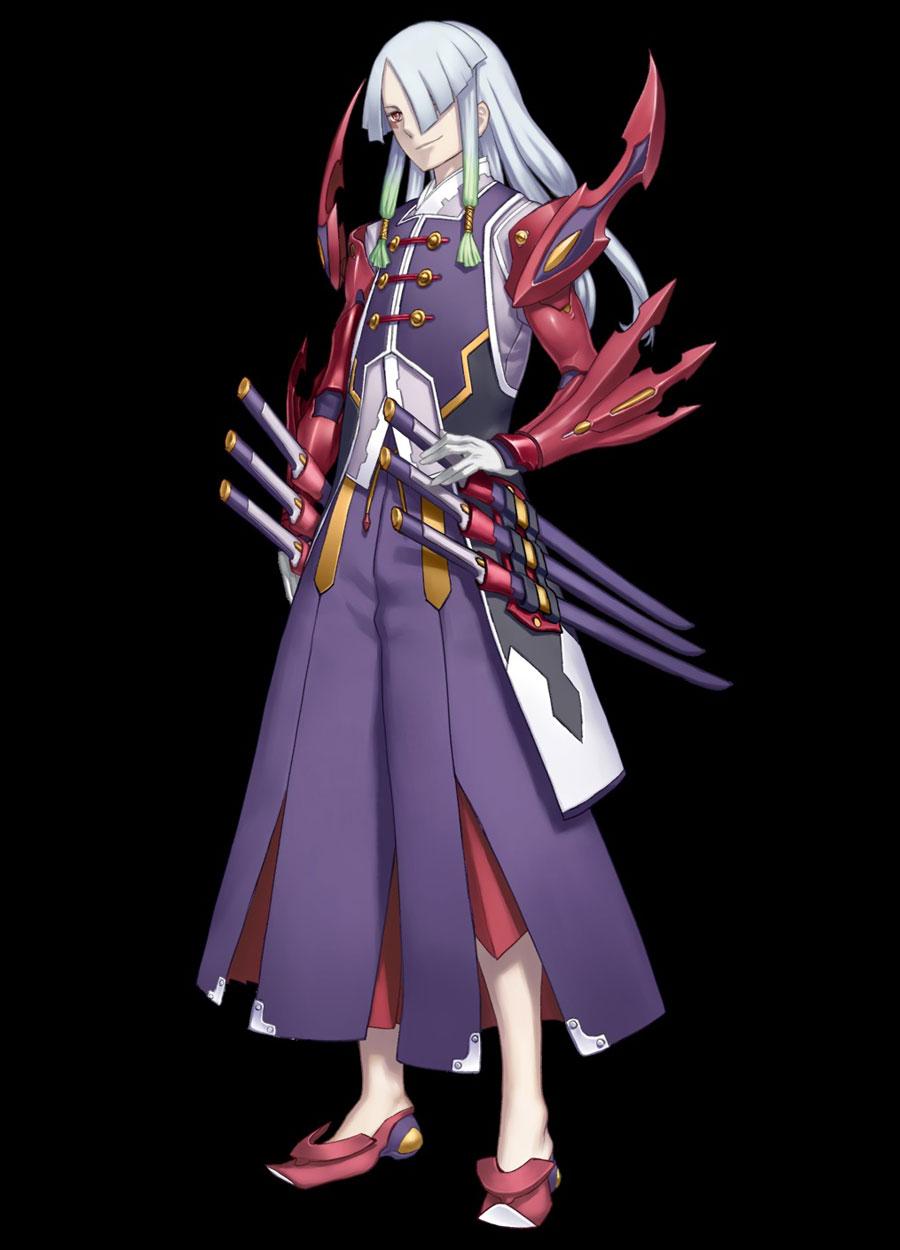 Capitão do quinto esquadrão: The God Rufan