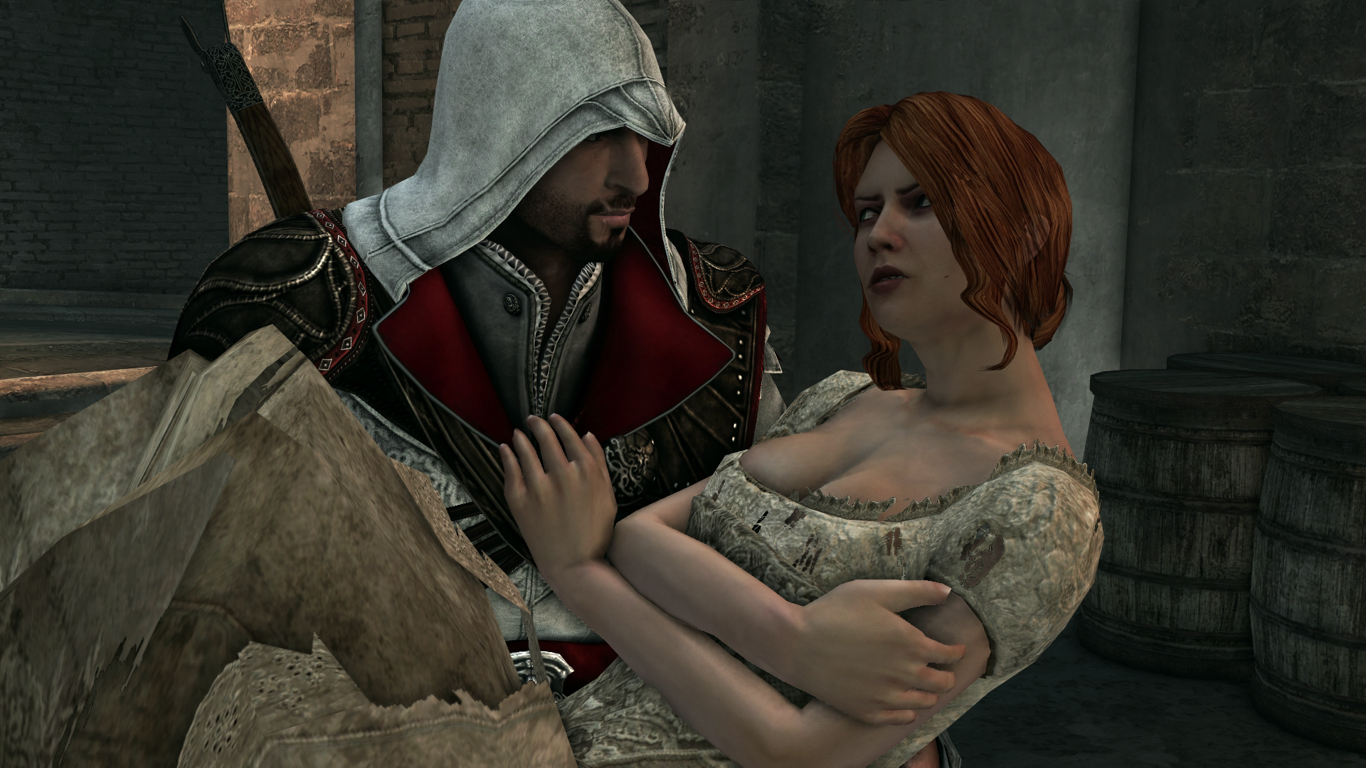 Ezio sex with christina hentai images