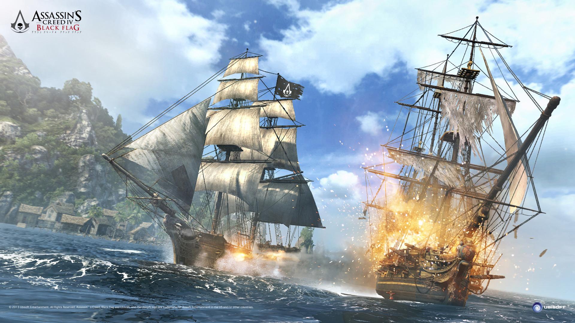 [Recopilación] Assassin's Creed IV: Black Flag Naval_battle_ACIV