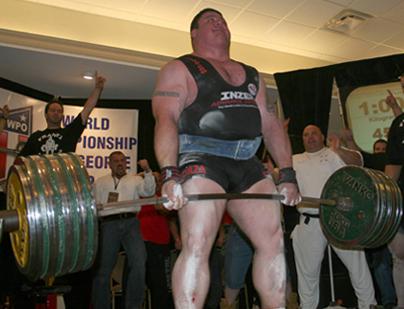 world record deadlift 1003lb andy bolton