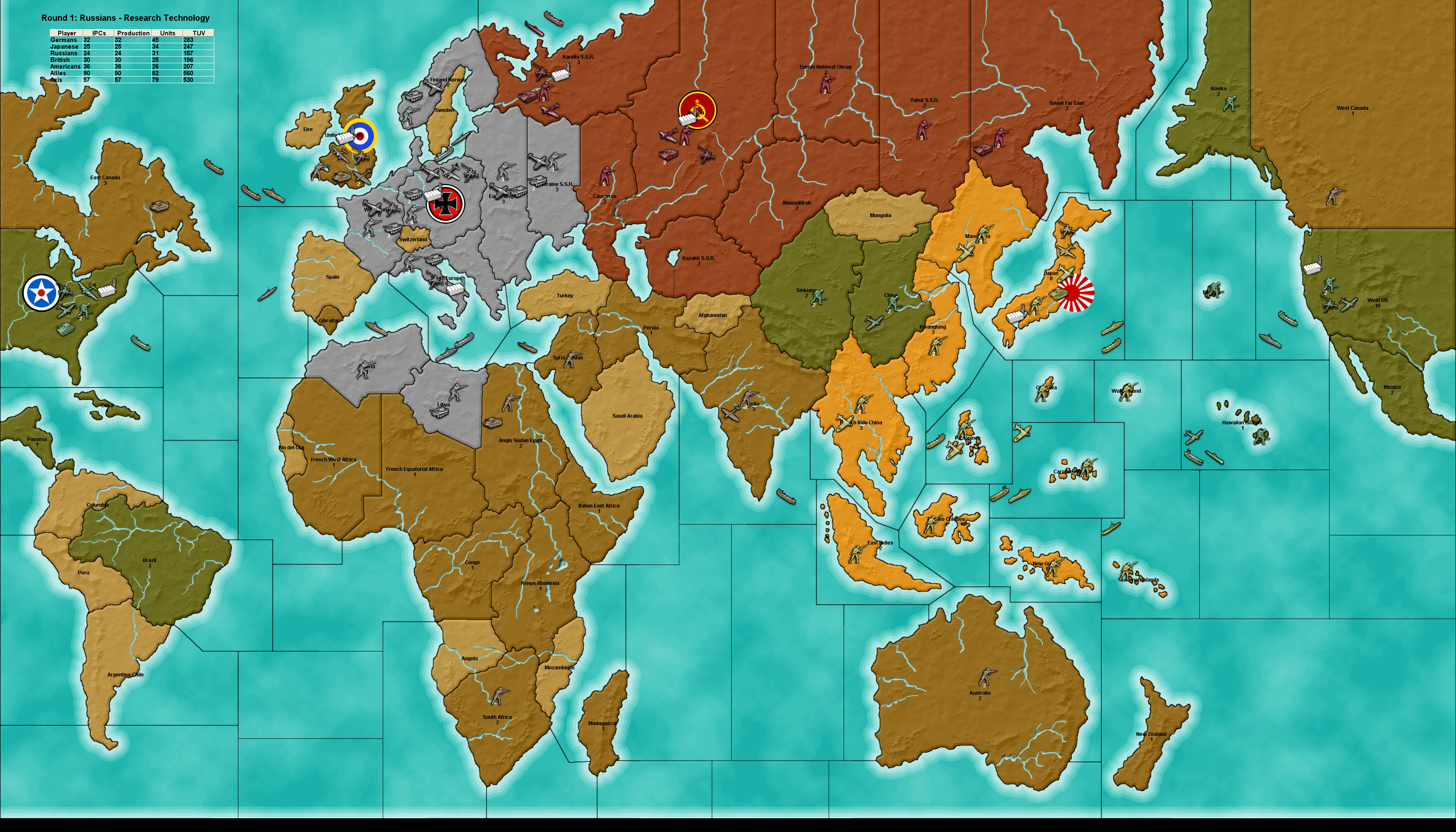 Axis and Allies Free Download PC Game Full Version