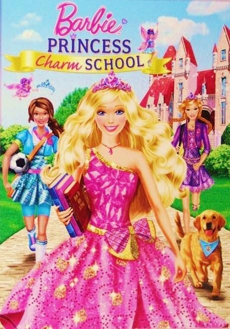 El baul de las barbies: Barbie in a princess charm school (escuela ...