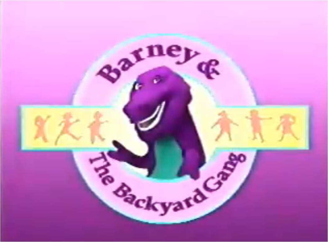barney and the backyard gang was a series of children s videos that
