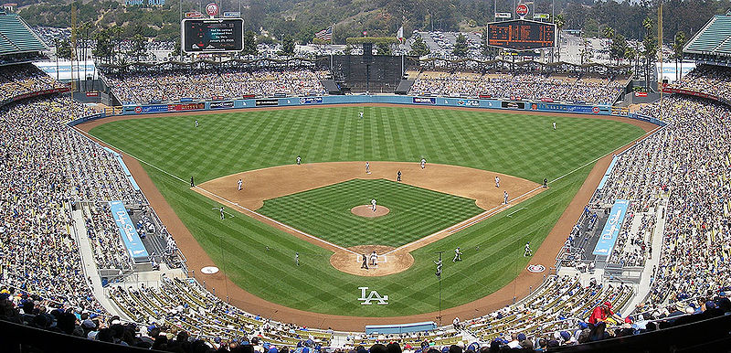 los angeles dodgers stadium. Dodger Stadium