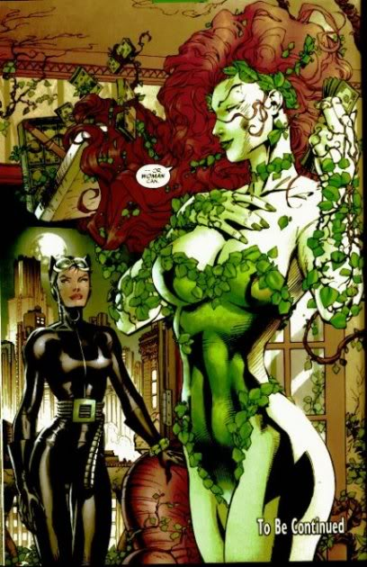 Catwoman Kiss Poison Ivy