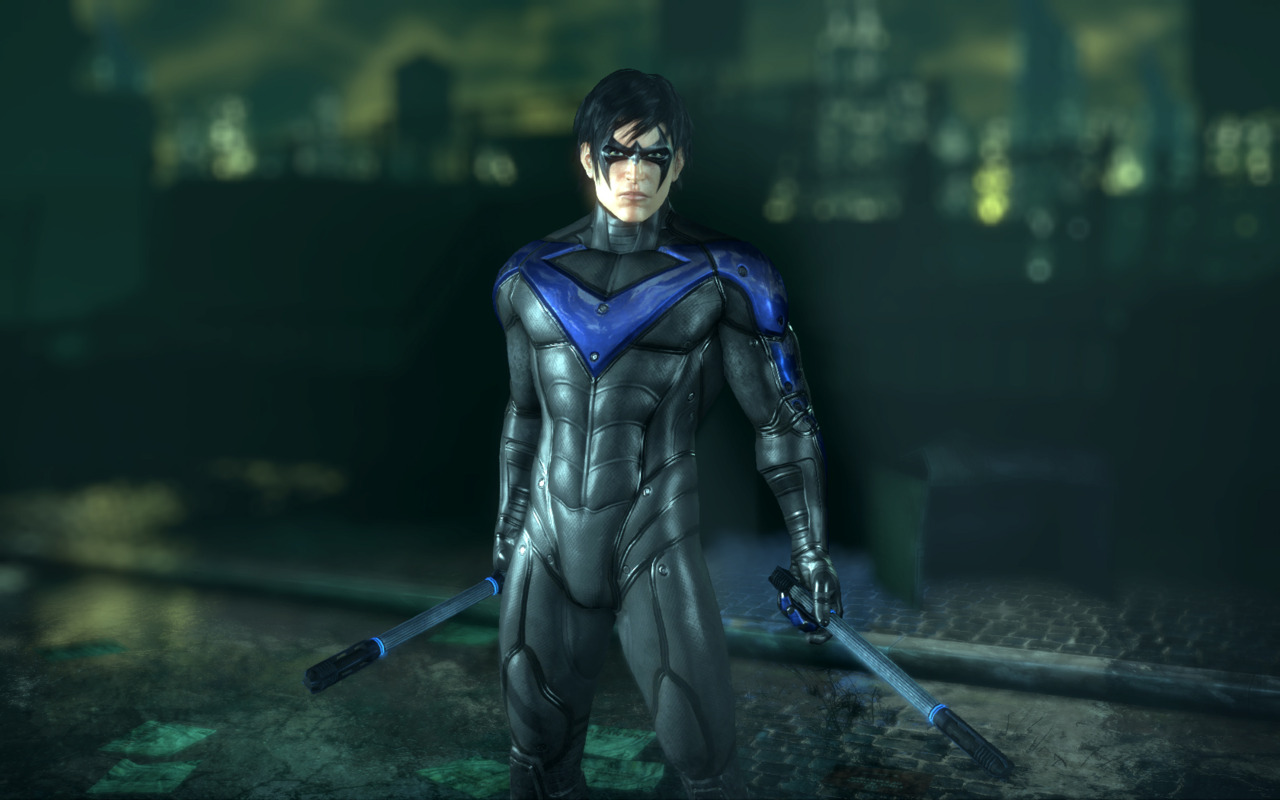 how to draw nightwing from batman arkham city