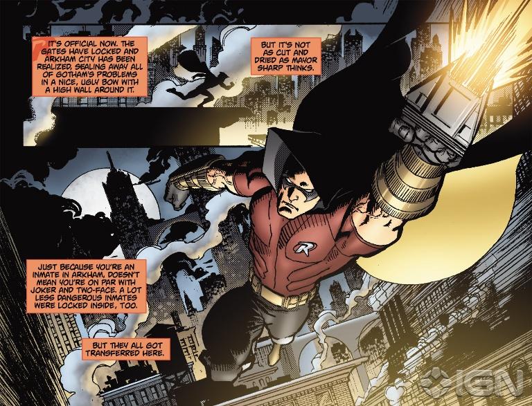 Comics Batman Arkham City Batman Arkham City Robin