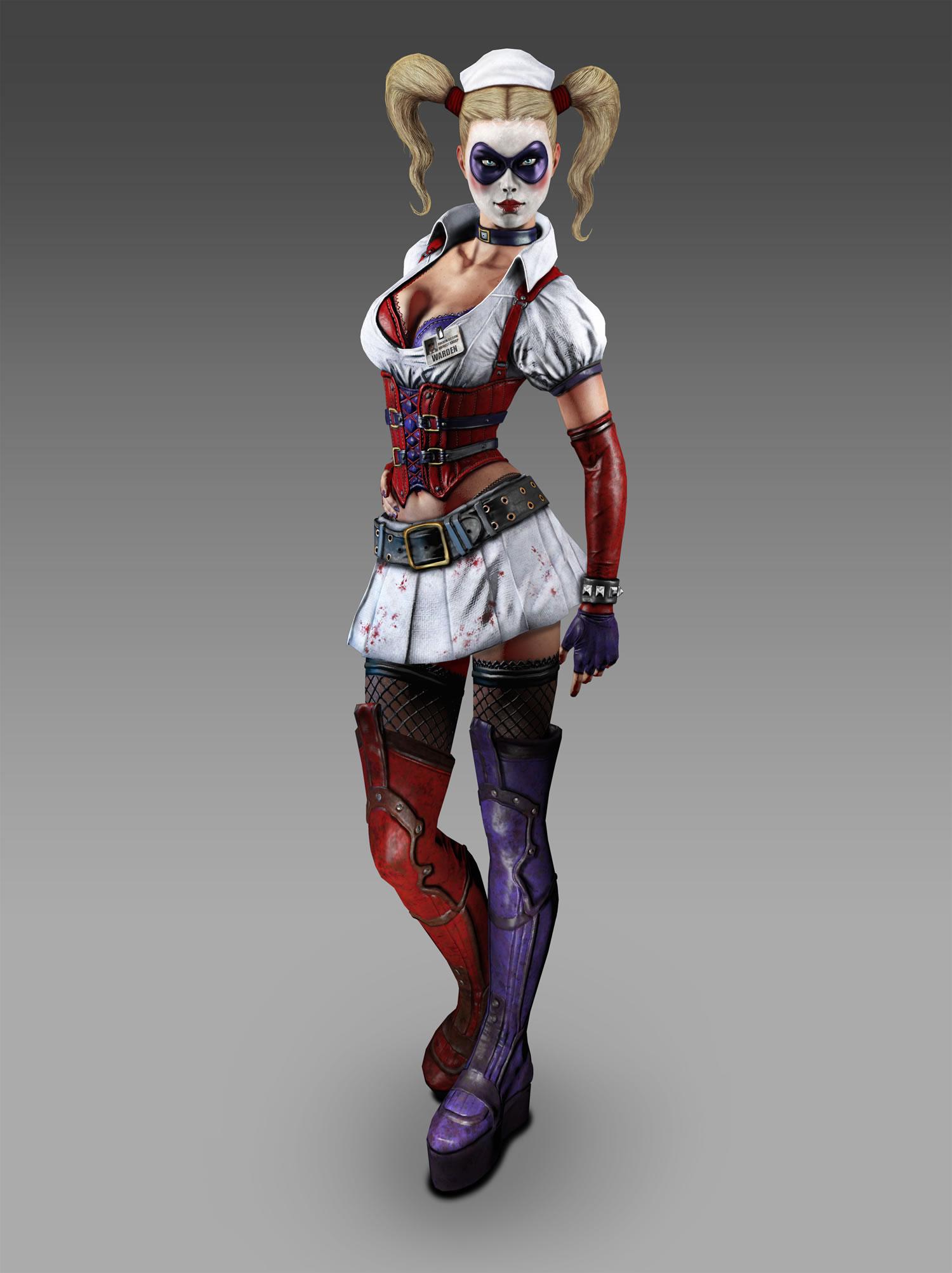 poison ivy batman arkham asylum. Harley Quinn (Batman: Arkham