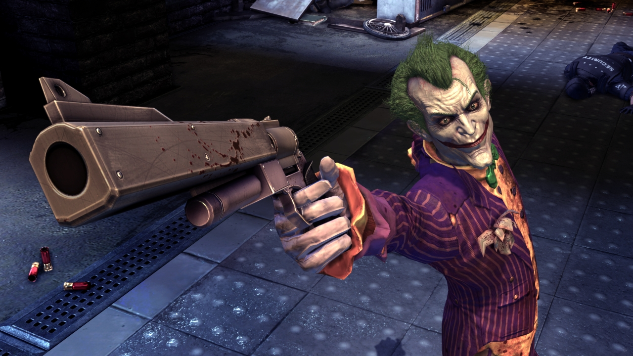 Greatest Game Villian Joker-gun