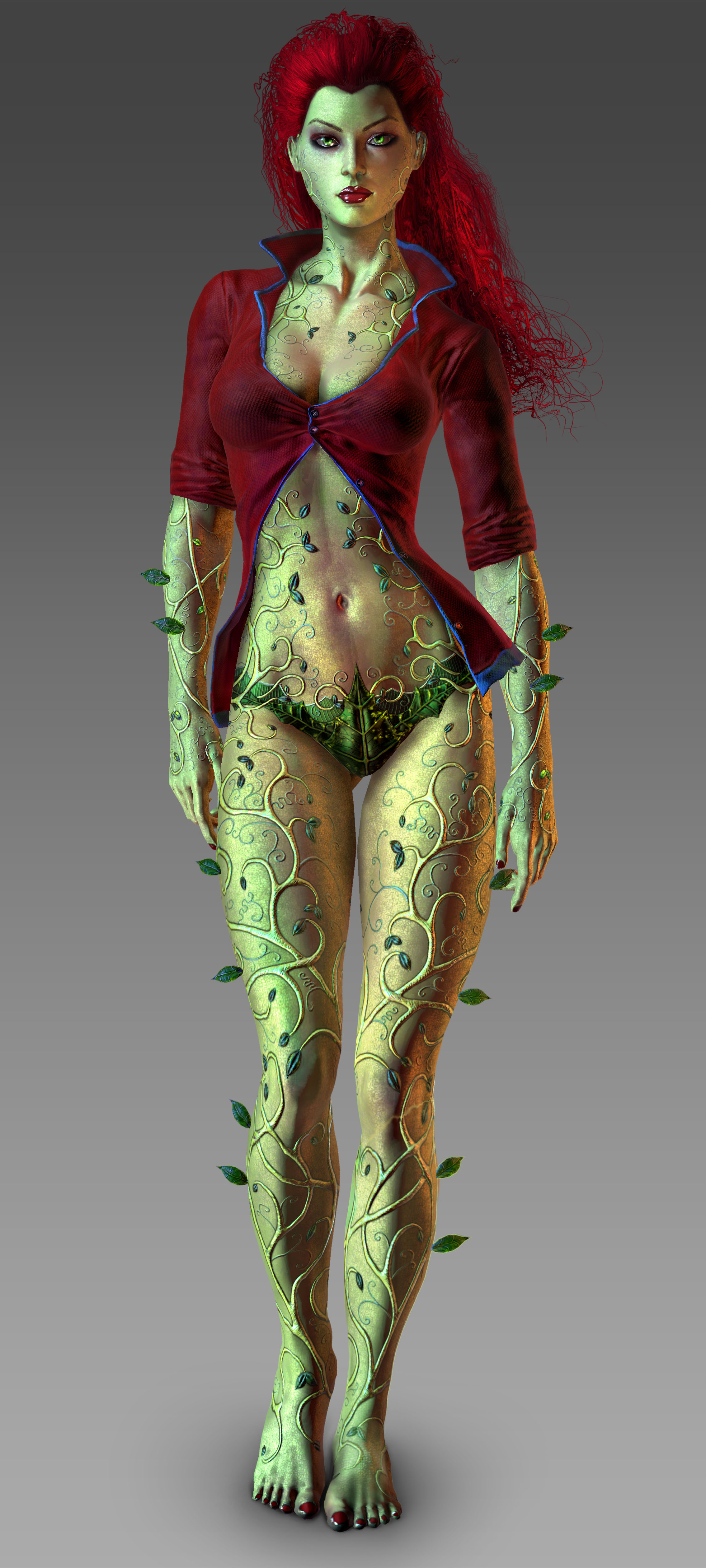 Arkham City Poison Ivy