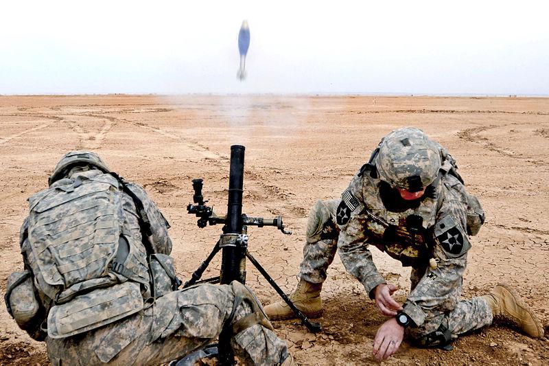 800px m224 mortar firing