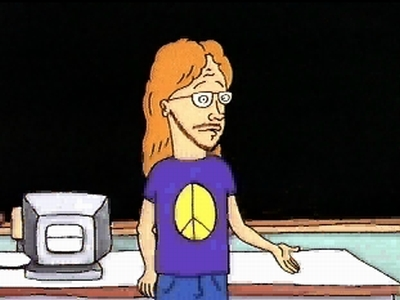 beavis and butthead s teacher