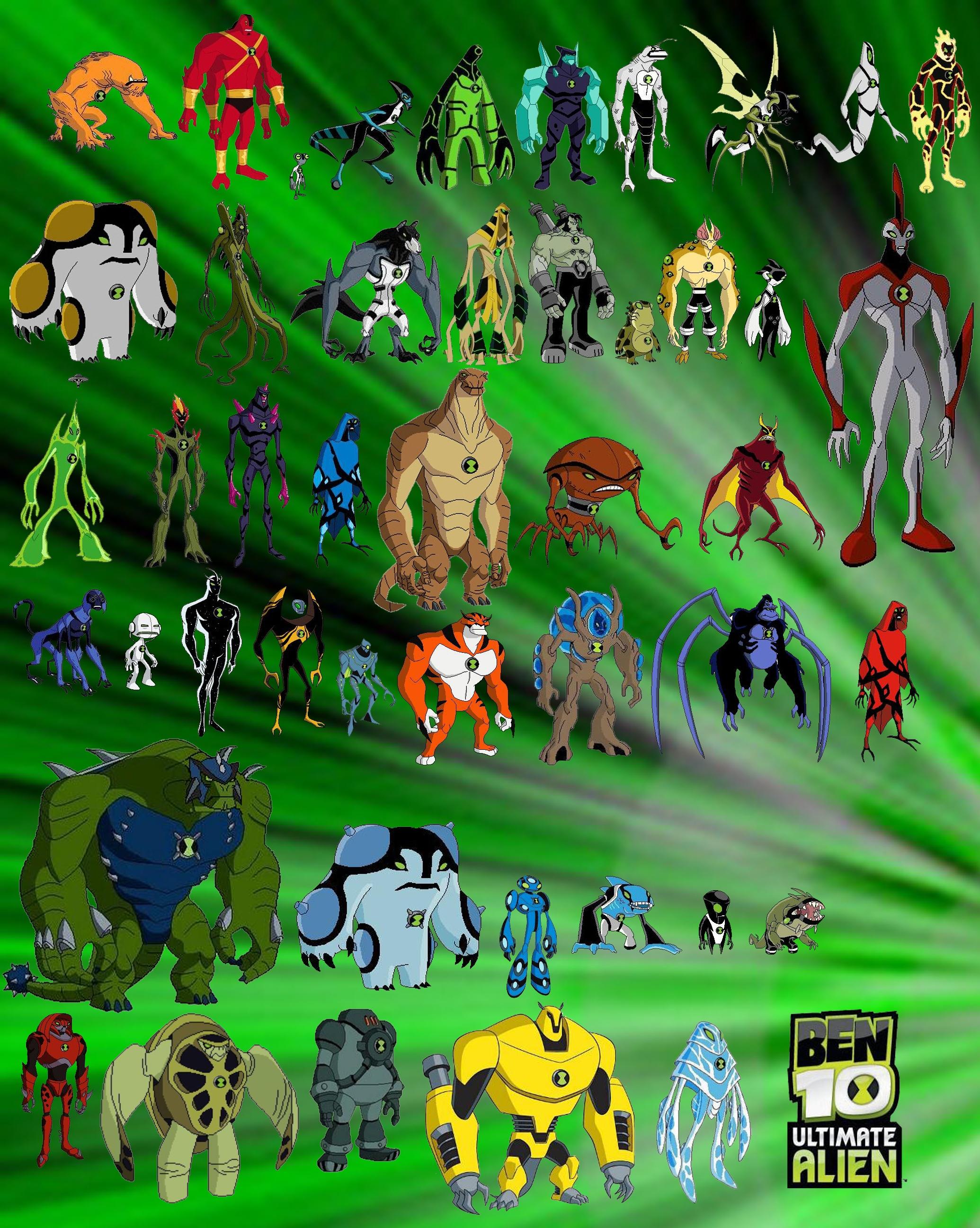 Archivo:Todos los aliens de ben 10 ultimate alien.jpg