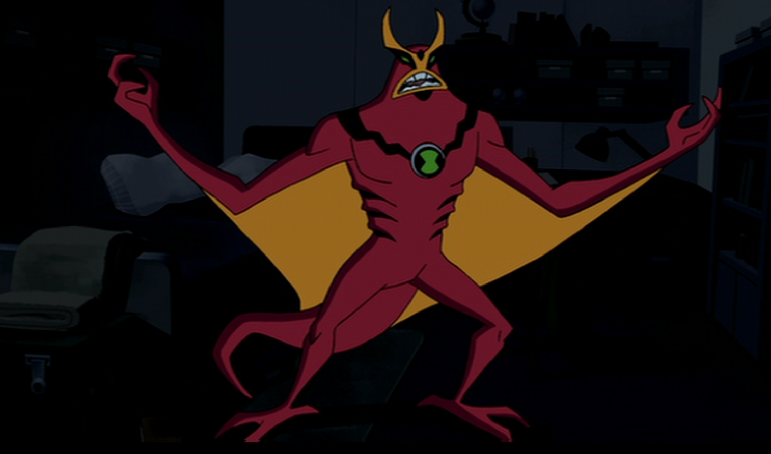 Show full sized picture      1 514   215  892 pixels  file size  632 KB    Ben 10 Omniverse Jetray