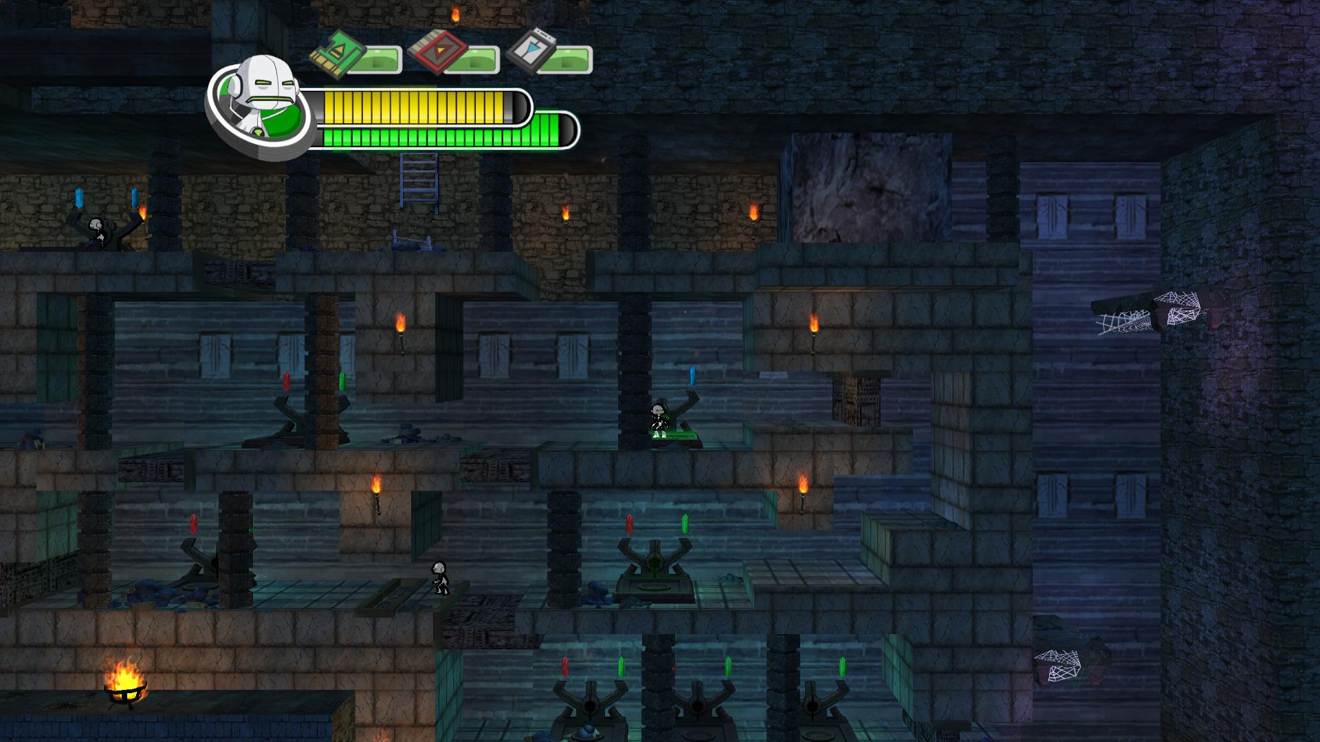 Ben 10 Alien Force: The Rise of Hex Screenshot