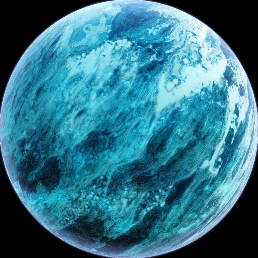 alien water planet - photo #18
