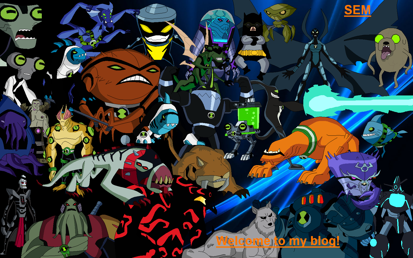 welcome SEM png - Ben 10 Fan Fiction  the Ultimate Ben 10 Fanon SiteWalkatrout Ben 10 Omniverse