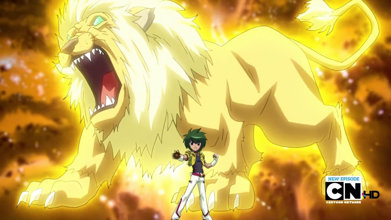 Fang Leone Special Move Beyblade Fang Leone Special